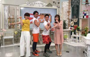 東海テレビ「スイッチ」に3回目の出演しました!